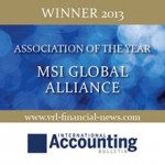 Weston Hurd & Corrigan Krause Share in MSI Global Alliance's 2013 Association of the Year Award