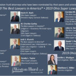 Weston Hurd Attorneys Named 2019 Best Lawyers in America®, Ohio Super Lawyers, and Ohio Rising Stars