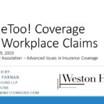 #MeToo! Coverage for Workplace Claims